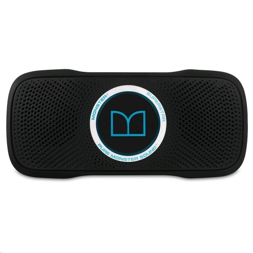 Altavoz Monster SuperStar BackFloat, impermeable, portátil, Bluetooth y color Negro - Azul