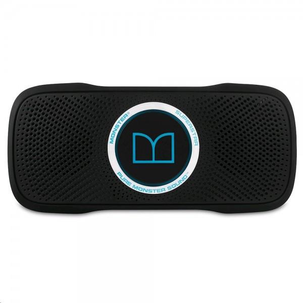 Altavoz Monster SuperStar BackFloat, impermeable, portátil, Bluetooth y color Negro - Azul