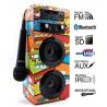 REPRODUCTOR BIWOND JOYBOX KARAOKE BT USB FM COMIC