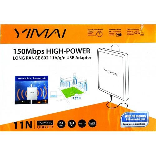 ANTENA YIMAI 150MBPS HIGH POWER 11N USB 2.0