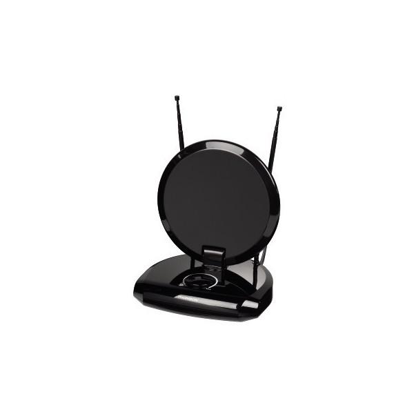 Antena Thomson ANT1731, Interior, 40dbi, DVB-T y color Negro