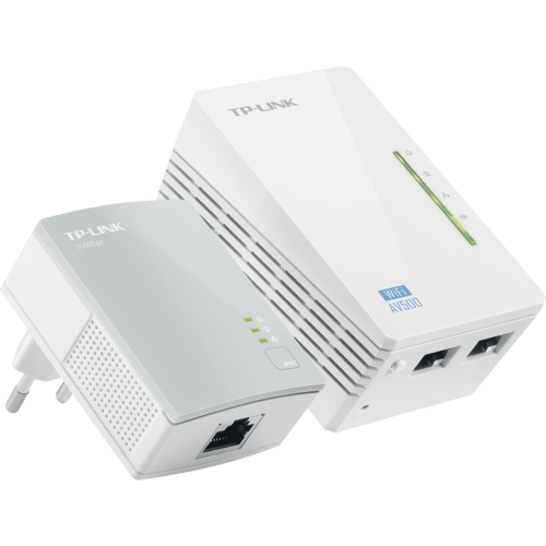 Power Line WiFi Tp-Link TL-WPA4220KIT, PLC, 300Mbit/s Ethernet LAN y color Blanco