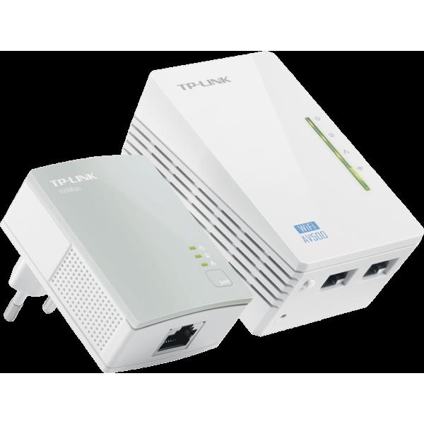 Power Line WiFi Tp-Link TL-WPA4220KIT, PLC, 300Mbit/s Ethernet LAN y color Blanco