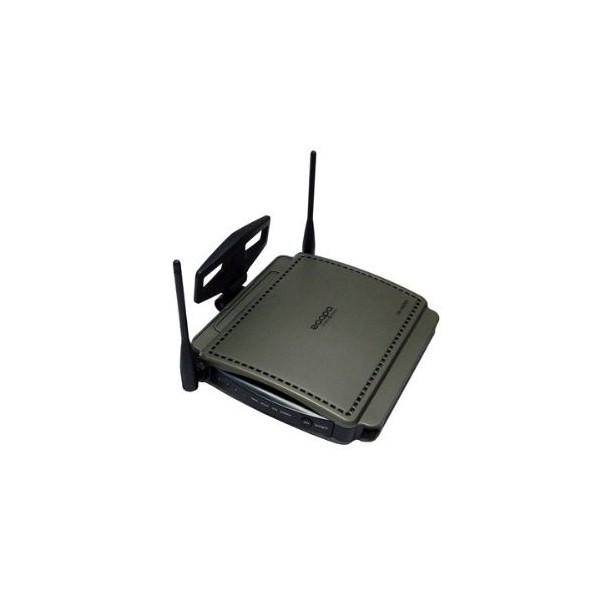 Router wireless Zaapa N ZW-BR11NT 300Mbps, compatible con los estándares 802.11 b, g, n y color Negro