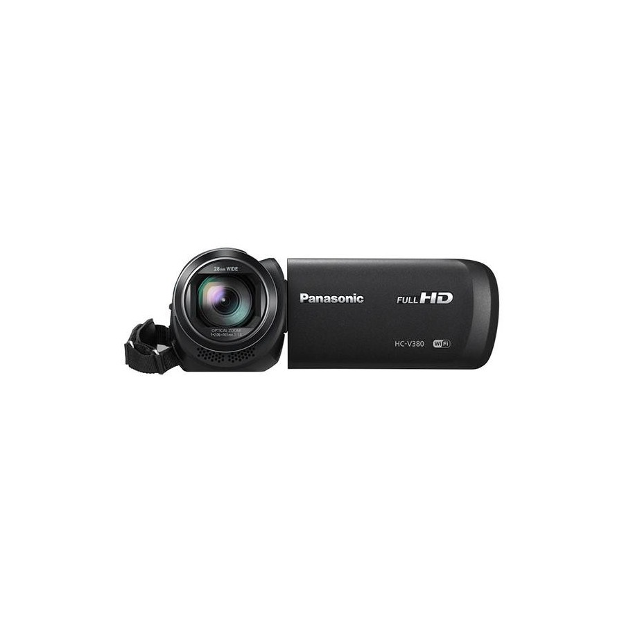 Cámara Video Panasonic HC-V180, Full HD, 10Mpx, Dual Sim y color Negro