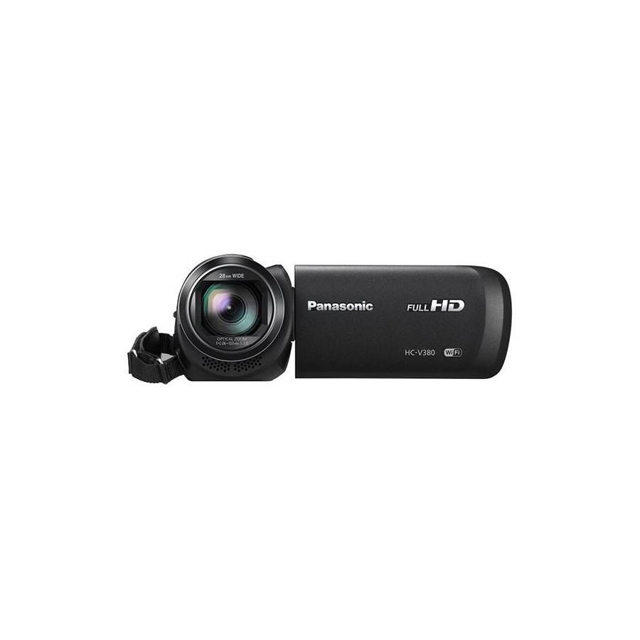 Cámara Video Panasonic HC-V180, Full HD, 10Mpx, Dual Sim y color Negro