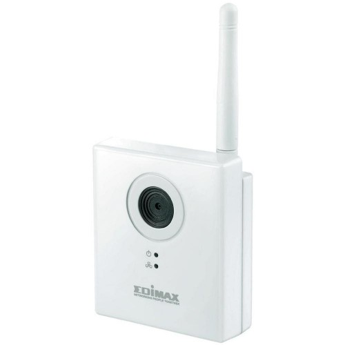 Cámara Videovigilancia Edimax IC-3115W, WiFi/WLan, 1280 x 960 píxeles, 1.3MP y color Plata
