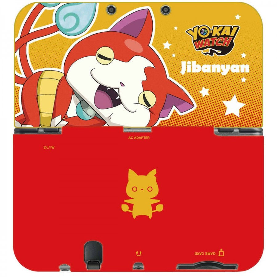 Carcasa Yo-Kai Watch (Jibanyan) para New Nintedo 3DS XL