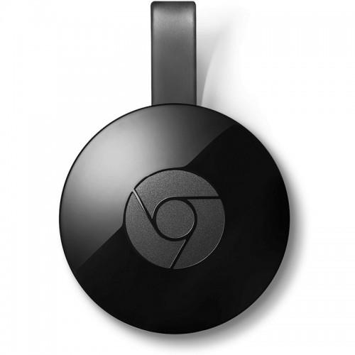 Google  Chromecast 2 transmisión contenido multimedia de color negro