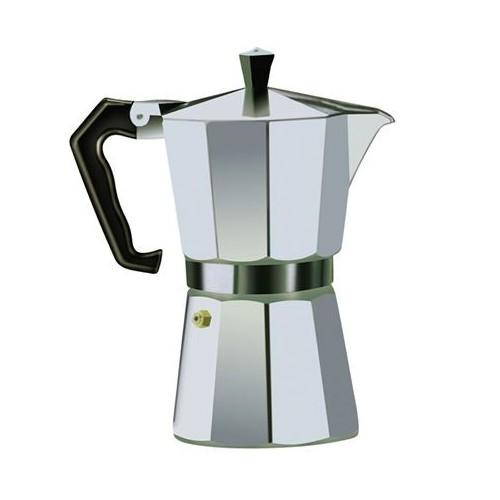 Cafetera Aluminio 3 Tazas Larryhouse LH1238