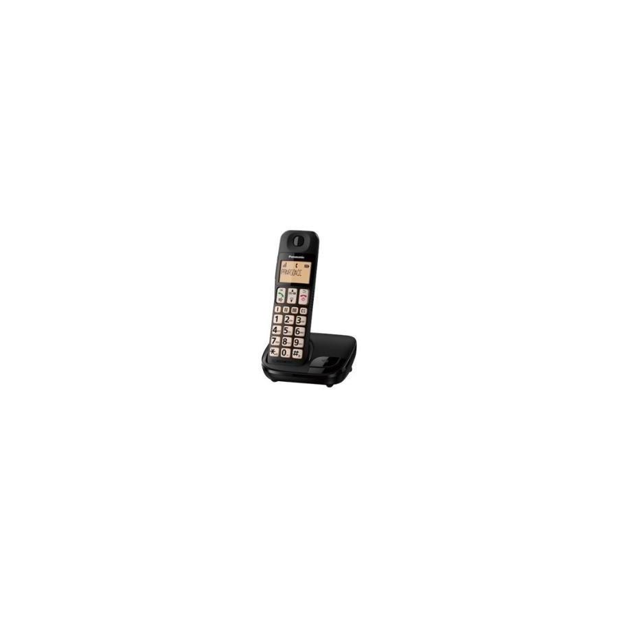 Teléfono inalámbrico Panasonic KX-TGE310SPB negro