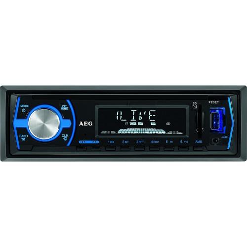Autorradio AEG AR 4030, Bluetooth,USB lector de tarjeta SD