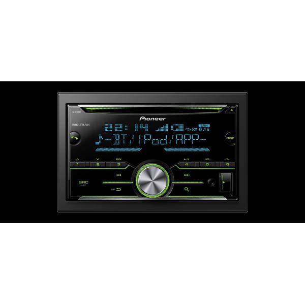 Radio Coche Pioneer FH-X 730 BT, 2 Din, Bluetooth, USB, Spotify