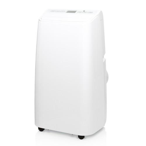 Aire Acondicionado Portátil Kricon KRI-09C de 9000 BTU con calefacción Clase A de color blanco