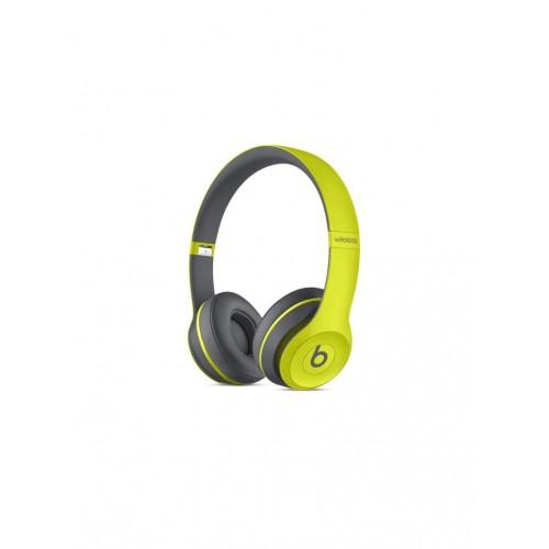 Beats Solo2 Wireless Headphones Active Collection - Yellow