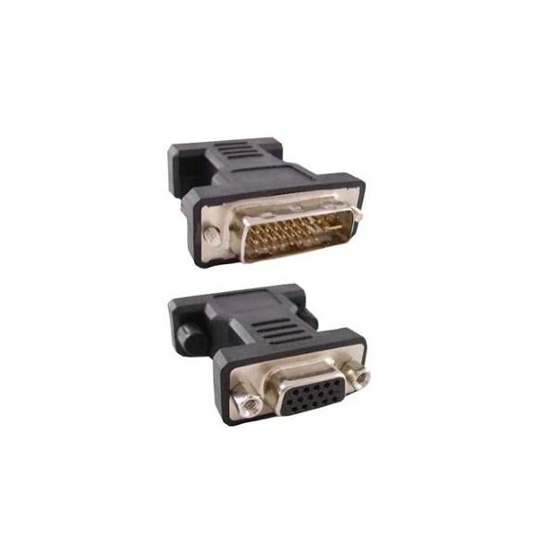 Adaptador Cromad DVI a VGA 24+5 Pin