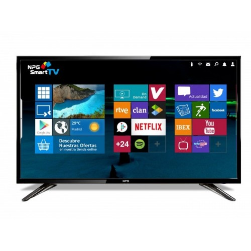Tv NPG TVS400DL40F Full HD / 40 Pulgadas / Smart Android / WiFi