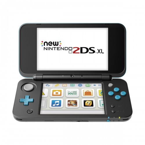 New Nintendo 2DS XL Negro/Turquesa