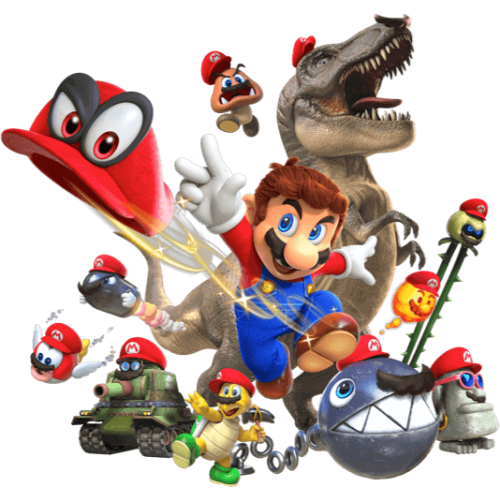 Juego Nintendo Switch Mario ODYSSEY