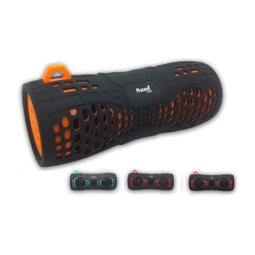 Altavoz Portátil Sami Bluetooth 6W Negro + Color