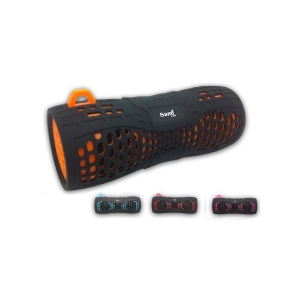 Altavoz Portátil Sami Bluetooth 6W Negro + Color