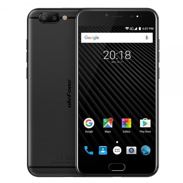 """Móvil Ulefone T1 5.5"""" 6GB 64GB Black"""