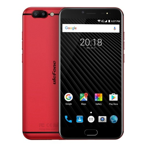 "Móvil Ulefone T1 5.5"" 6GB 64GB Red"