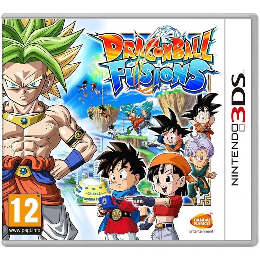 Juego Nintendo 3ds Dragon Ball Fusions