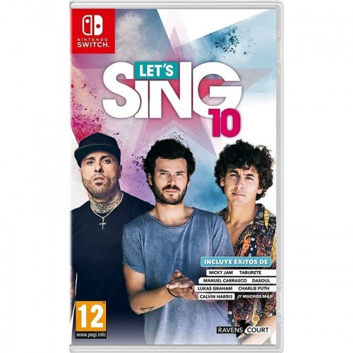 Juego Nintendo Switch Lets Sing 10