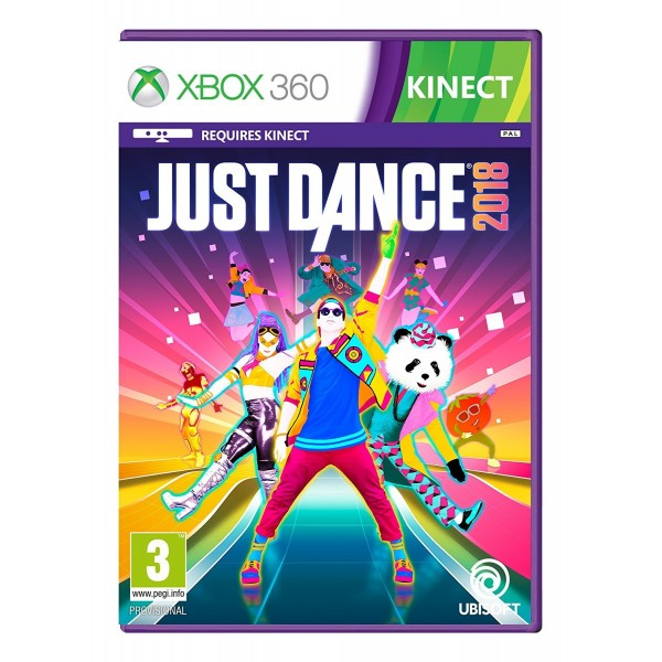 Juego Xbox 360 Just Dance 2018