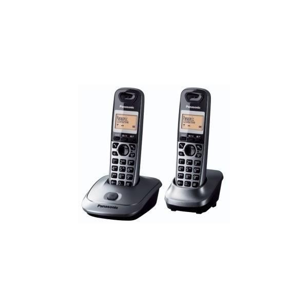 Telefono Panasonic KX-TG2512SPM Kit 2 Gris
