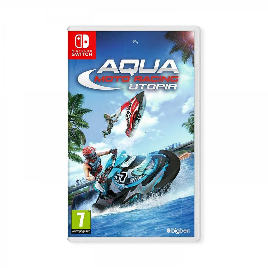 Juego Nintendo Switch Aqua Moto Racing Utopia