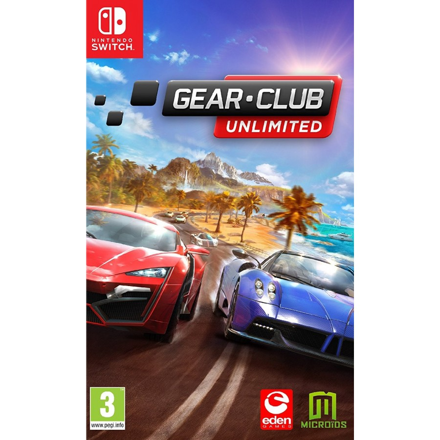 Juego Nintendo Switch Gear Club Unlimited
