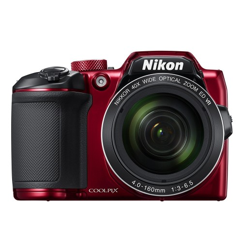 Camara Nikon Coolpix B500 16MP Roja