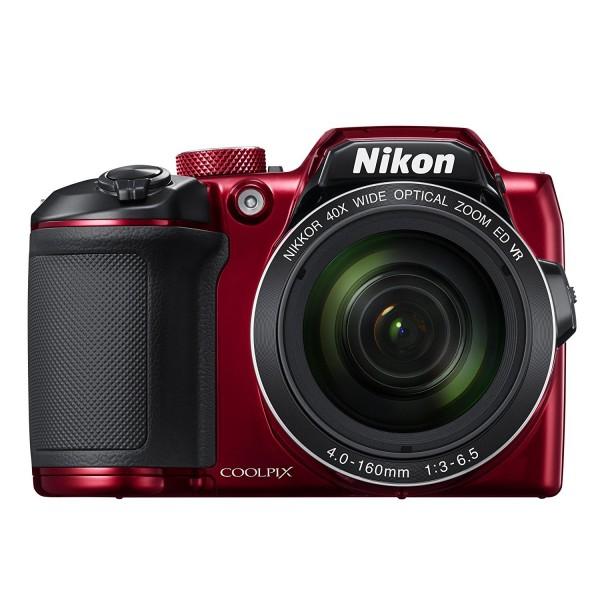 Camara Nikon Coolpix B500 16MP Roja