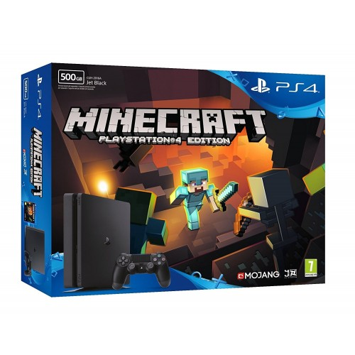 Consola Ps4 500GB Slim + Minecraft