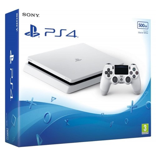 Consola Ps4 500GB Slim Blanca