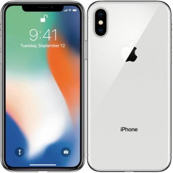 Apple iPhone X 256GB MQAG2QL/A Silver