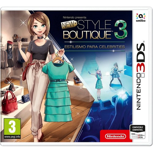 Juego Nintendo 3DS New Style Boutique 3