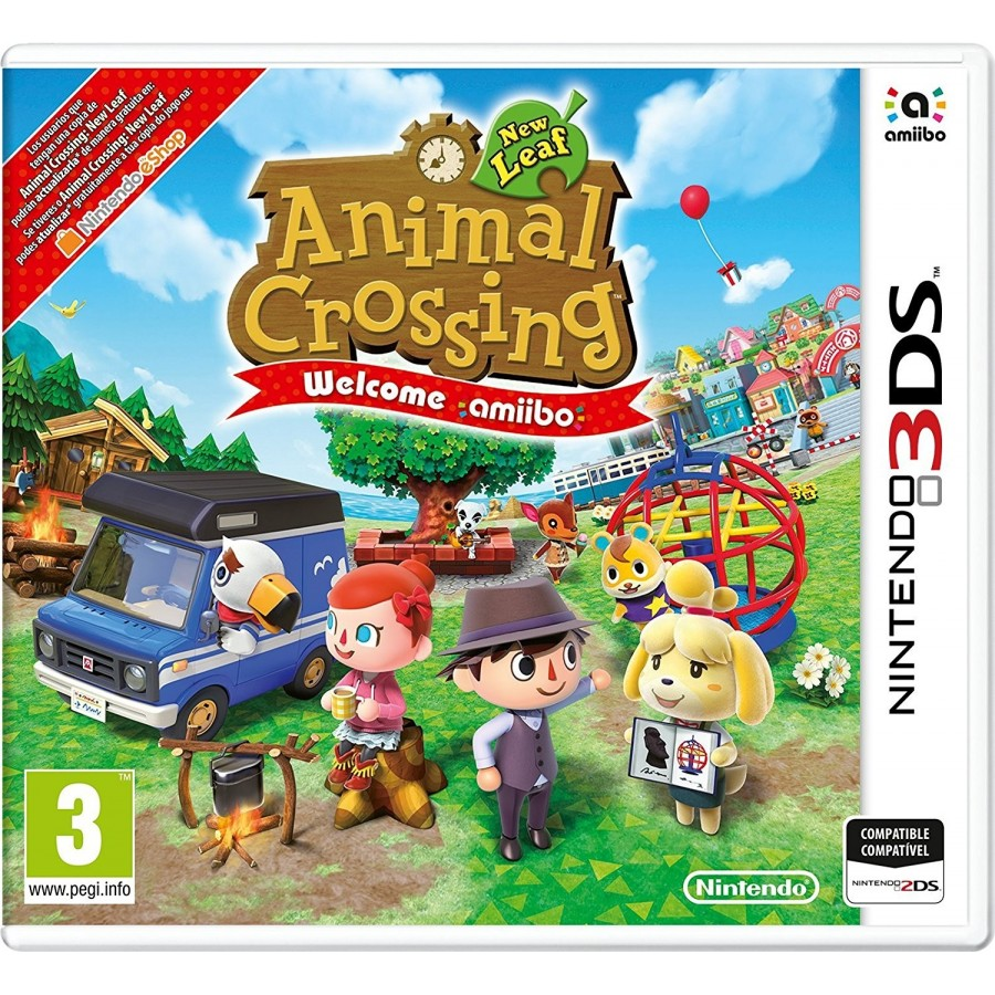 Juego Nintendo 3ds Animal Crossing Welcome Amiibo